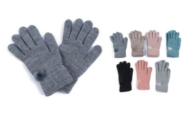 Wholesale Clothing Accessories Assorted Fall Winter Gloves NTT13
