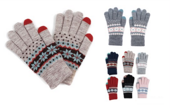 Wholesale Clothing Accessories Assorted Fall Winter Gloves NTT14
