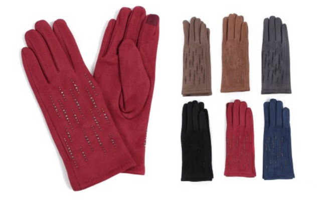 Wholesale Clothing Accessories Assorted Fall Winter Gloves NTT17