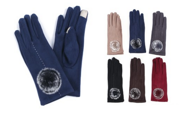 Wholesale Clothing Accessories Assorted Fall Winter Gloves NTT23