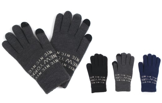 Wholesale Clothing Accessories Assorted Fall Winter Gloves NTT28