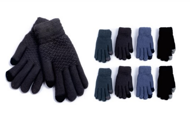 Wholesale Clothing Accessories Assorted Fall Winter Gloves NTT40