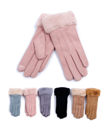 Wholesale Clothing Accessories Assorted Fall Winter Gloves NTT44