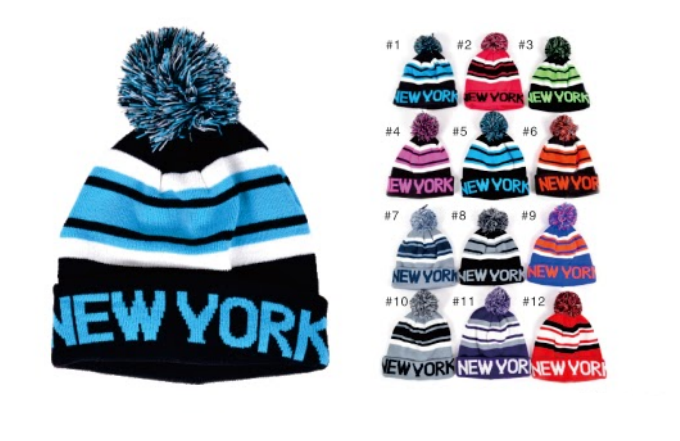 Wholesale Clothing Accessories Assorted Fall Winter Hats NTT23