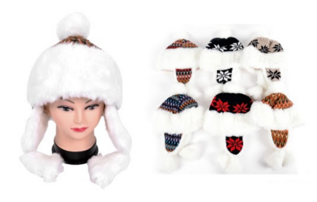 Wholesale Clothing Accessories Assorted Fall Winter Hats NTT37