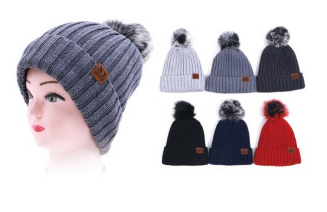 Wholesale Clothing Accessories Assorted Fall Winter Hats NT05