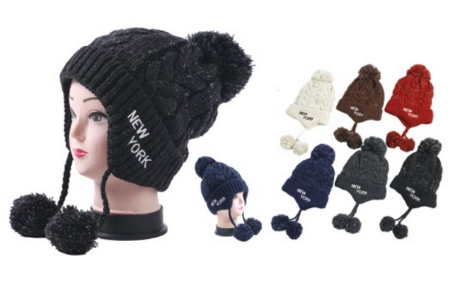 Wholesale Clothing Accessories Assorted Fall Winter Hats NTT11