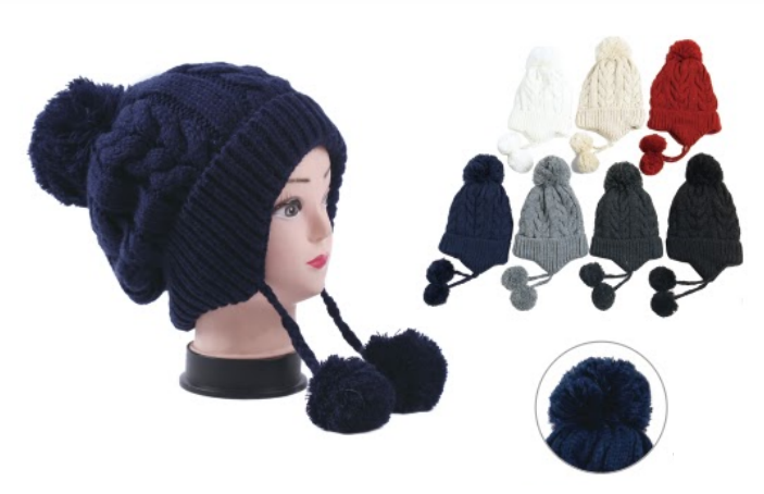 Wholesale Clothing Accessories Assorted Fall Winter Hats NTT12