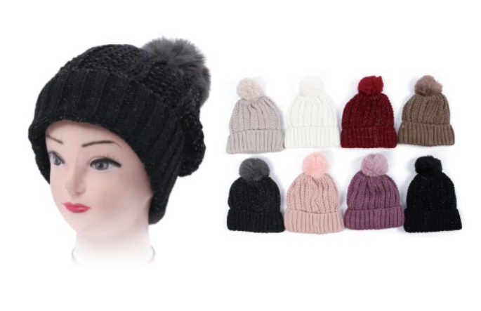 Wholesale Clothing Accessories Assorted Fall Winter Hats NTT43