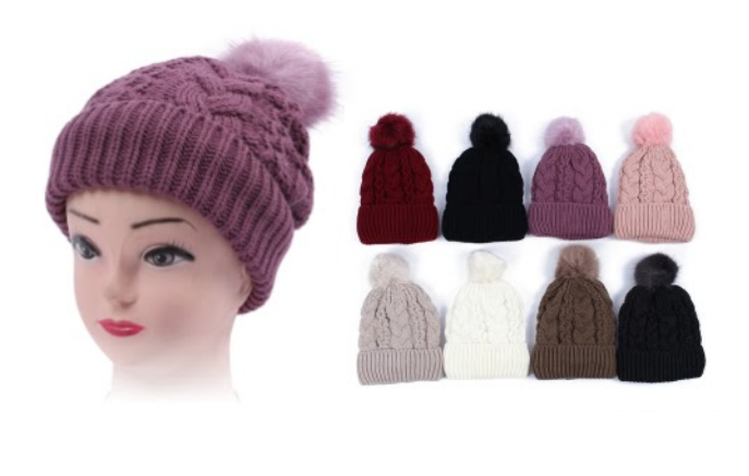 Wholesale Clothing Accessories Assorted Fall Winter Hats NTT44