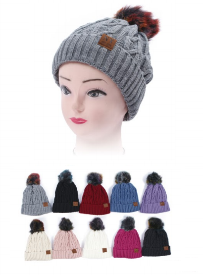 Wholesale Clothing Accessories Assorted Fall Winter Hats KIDS NTT46