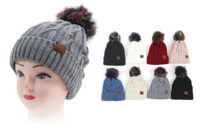 Wholesale CLOTHING Accessories Assorted Fall Winter Hats NTT47