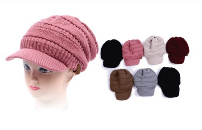 Wholesale Clothing Accessories Assorted Fall Winter Hats NTT84