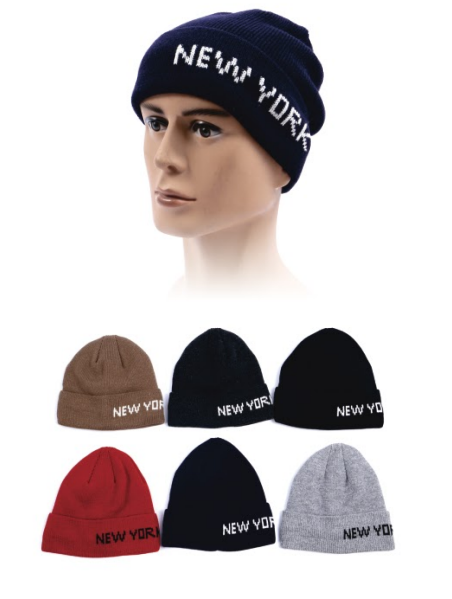 Wholesale Clothing Accessories Assorted Fall Winter Hats NTT94