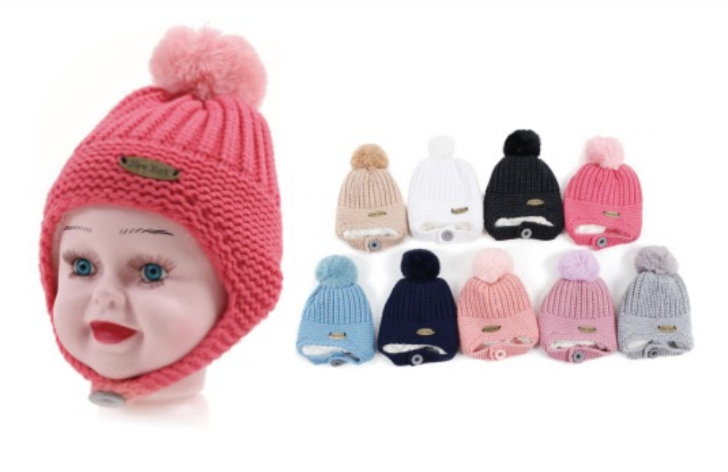 Wholesale Clothing Accessories Assorted Fall Winter KIDS Hats NTT55