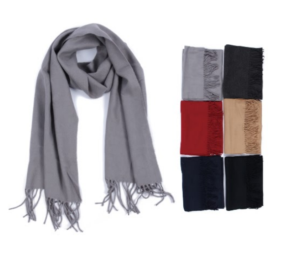Wholesale Clothing Accessories Assorted Fall Winter Scarves NT05