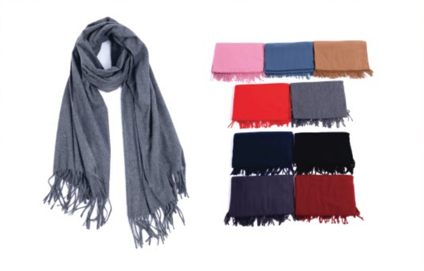 Wholesale Clothing Accessories Assorted Fall Winter Scarves NT20