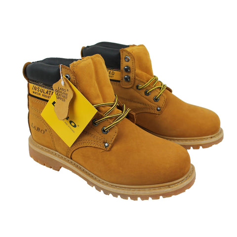 Wholesale Men's Boots Lace Up Steel Toe Boots Shoes NE52