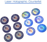 Wholesale Accessories 9360 pcs Circle Proudly Made in USA Labels Self-Adhesive Stickers for Manufacturering and Retail Round (1.2