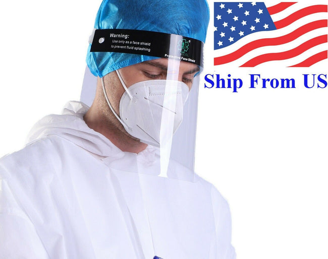 Wholesale Face Shield for Corona Virus COVID-19 Anti-fog and Anti-splash Face Eye Protective Safety Clear Visor N6FD
