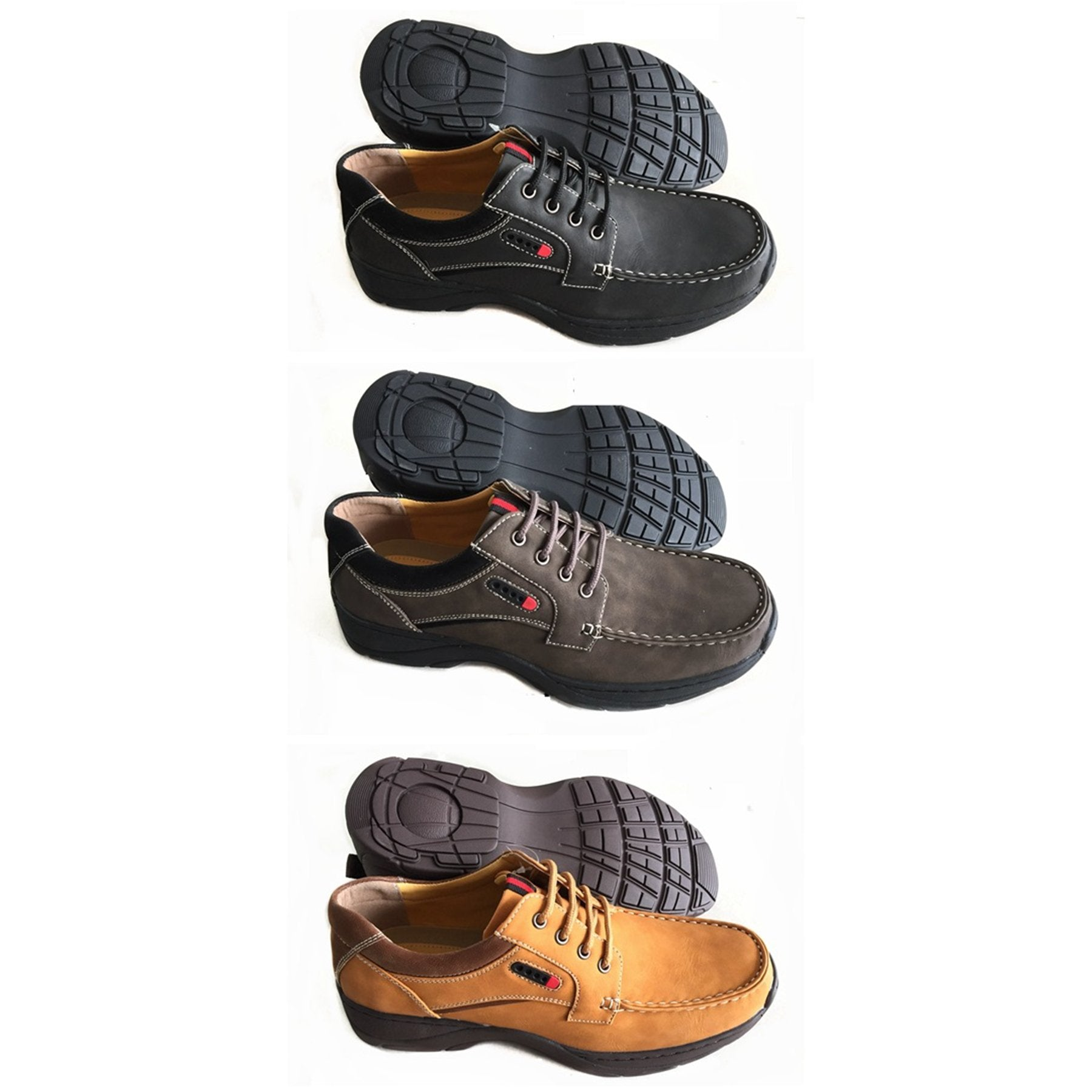 Wholesale Men's SHOES derby lace up boat casual ncps1