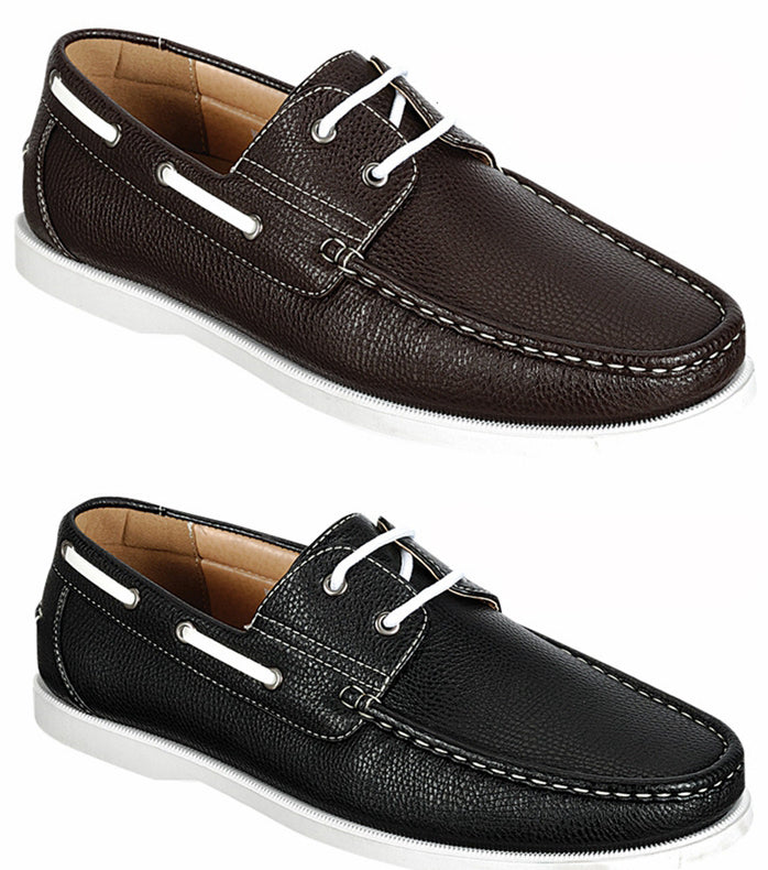 Wholesale Men's Shoes Derby Lace Up Boat Apron Toe David NCPW1