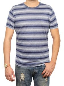 ASHER STRIPE JERSEY SHORT SLEEVE CREW NECK T-SHIRT