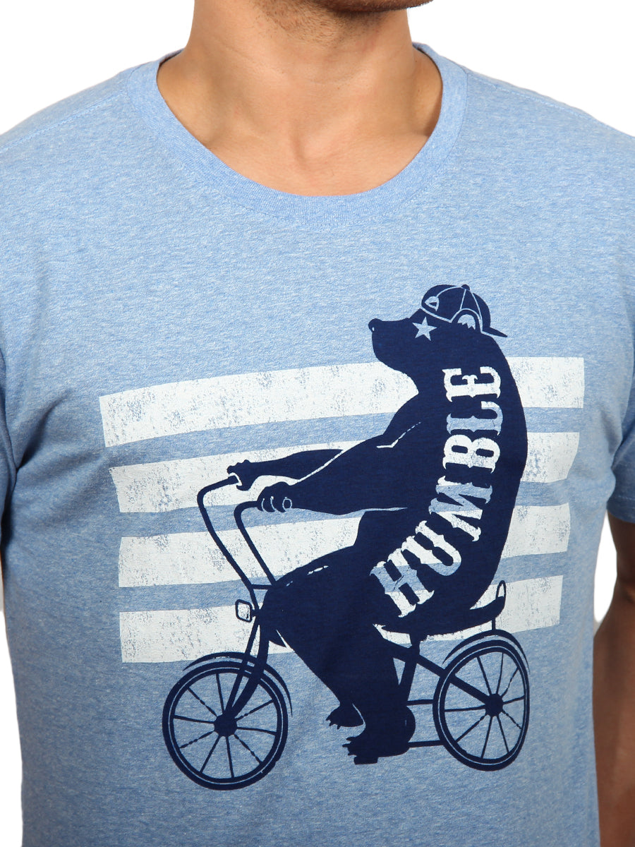 BEAR BIKE CREW NECK T-SHIRT