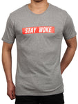 STAY WOKE CREW NECK T-SHIRT