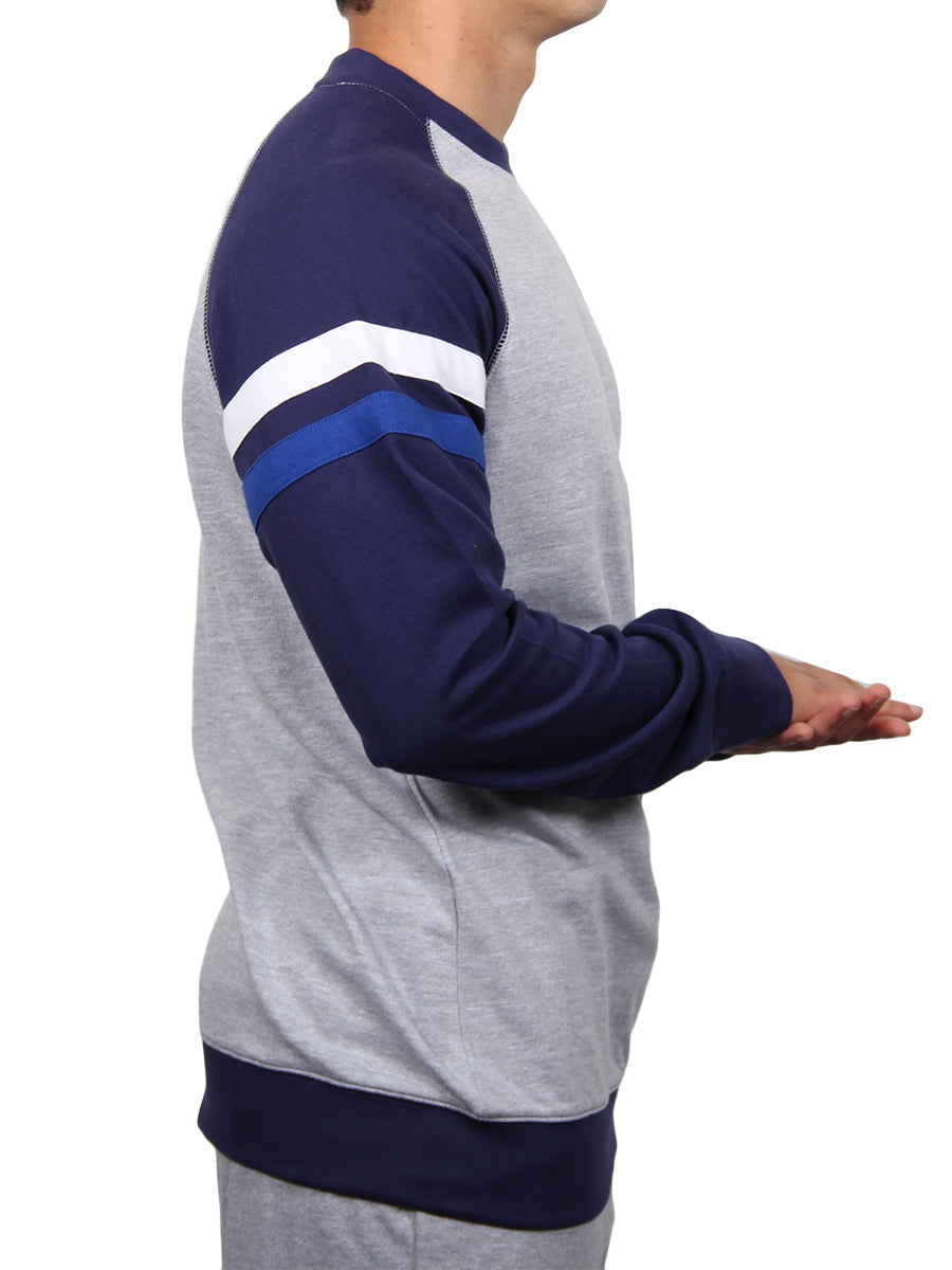 ATHLETIC LONG SLEEVE RAGLAN SWEATSHIRT