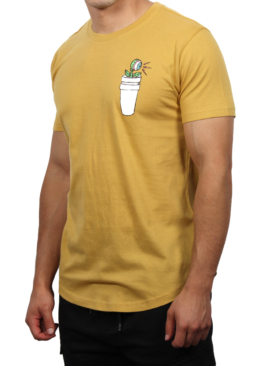 GREEN THUMB CREW NECK T-SHIRT