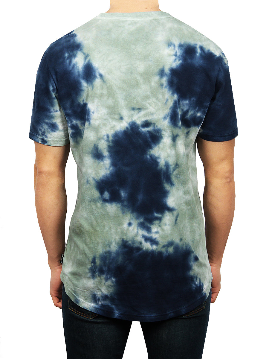 CRYSTAL WASH CREW NECK T-SHIRT
