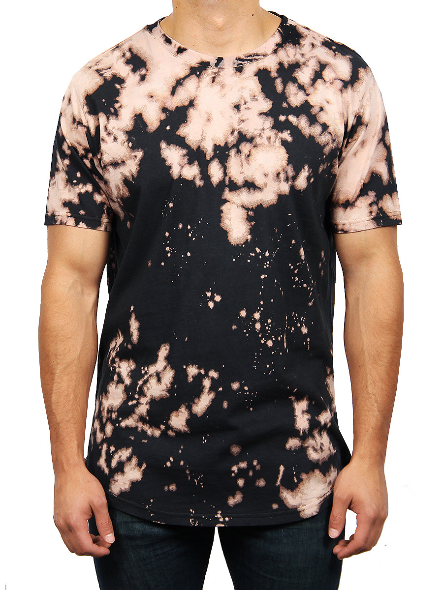 BLEACH TIE DYE CREW NECK T-SHIRT – Dikotomy