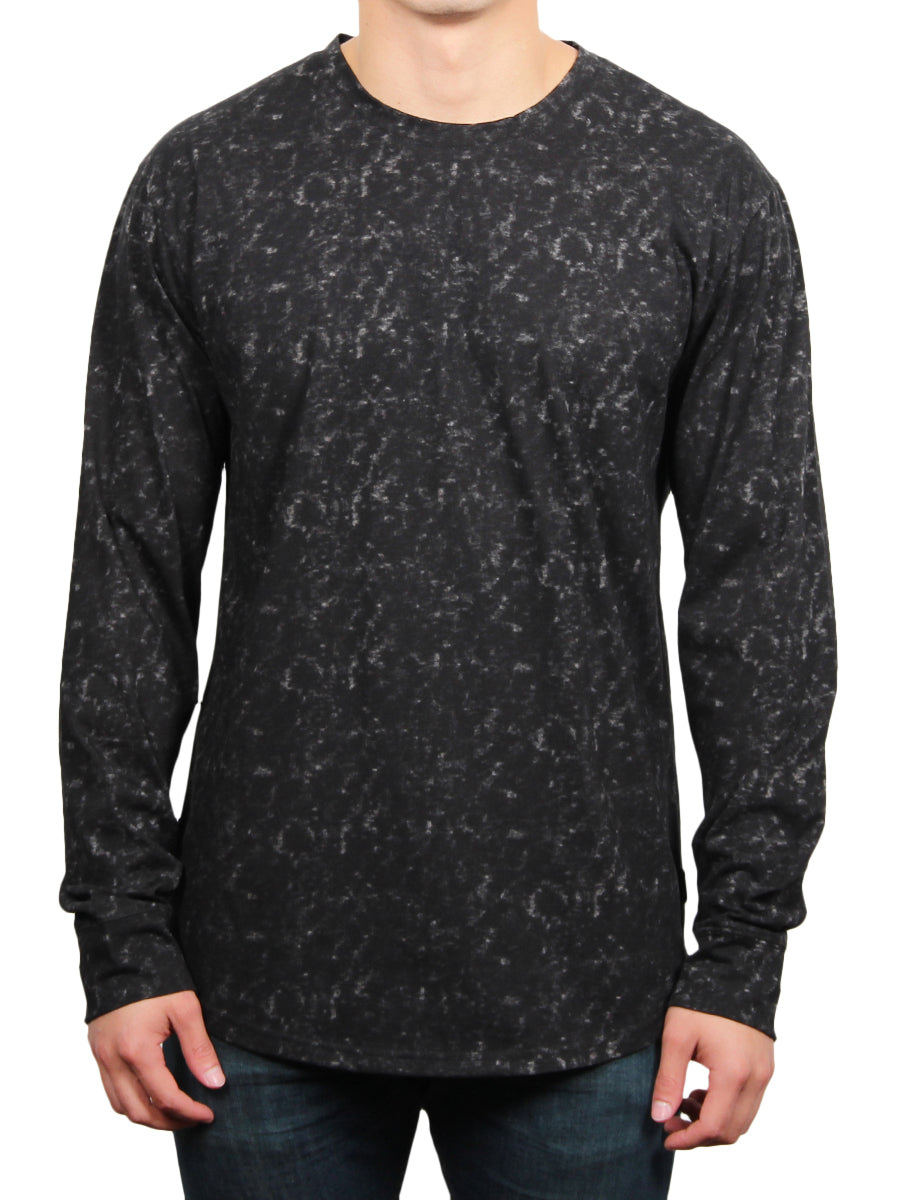 MOON WASH LONG SLEEVE TEE