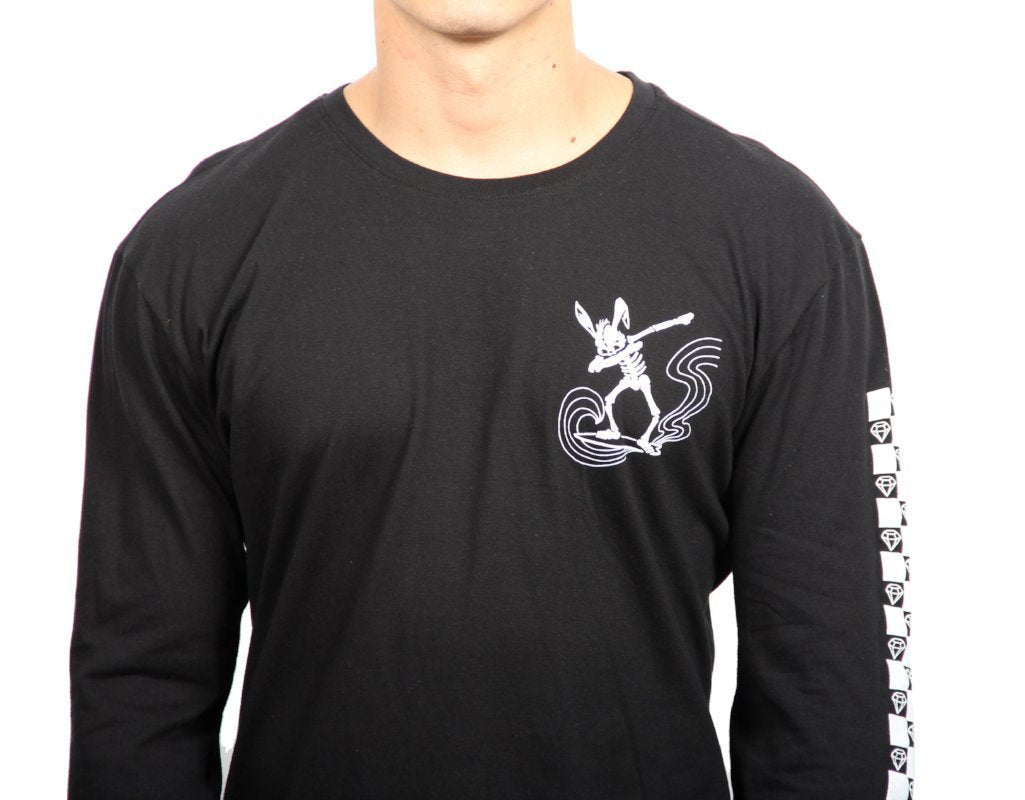 RABBIT DAB LONG SLEEVE CREW NECK TEE  SKU: W2448-0319ST