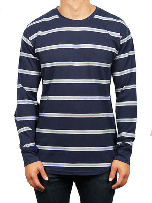 RIGBY STRIPE LONG SLEEVE TEE