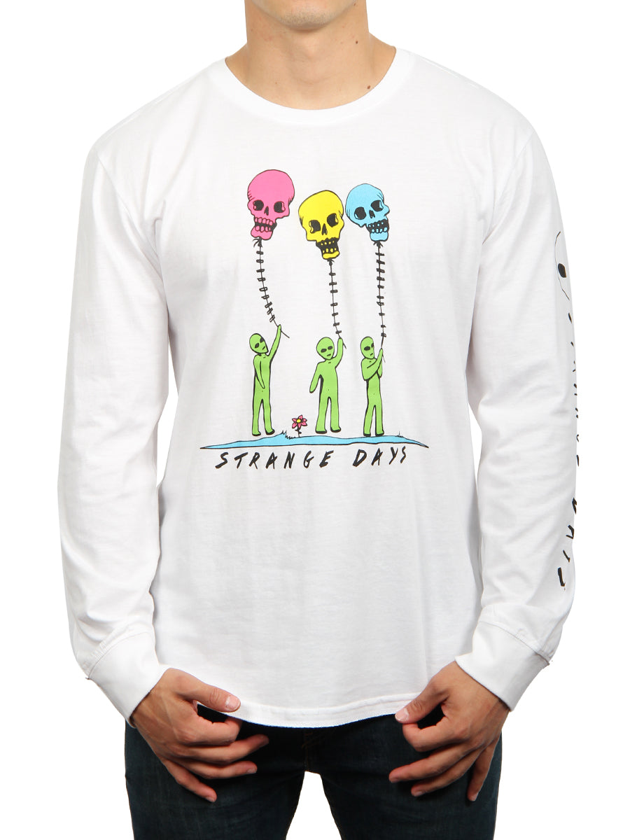 STRANGE DAYS LONG SLEEVE CREW NECK TEE