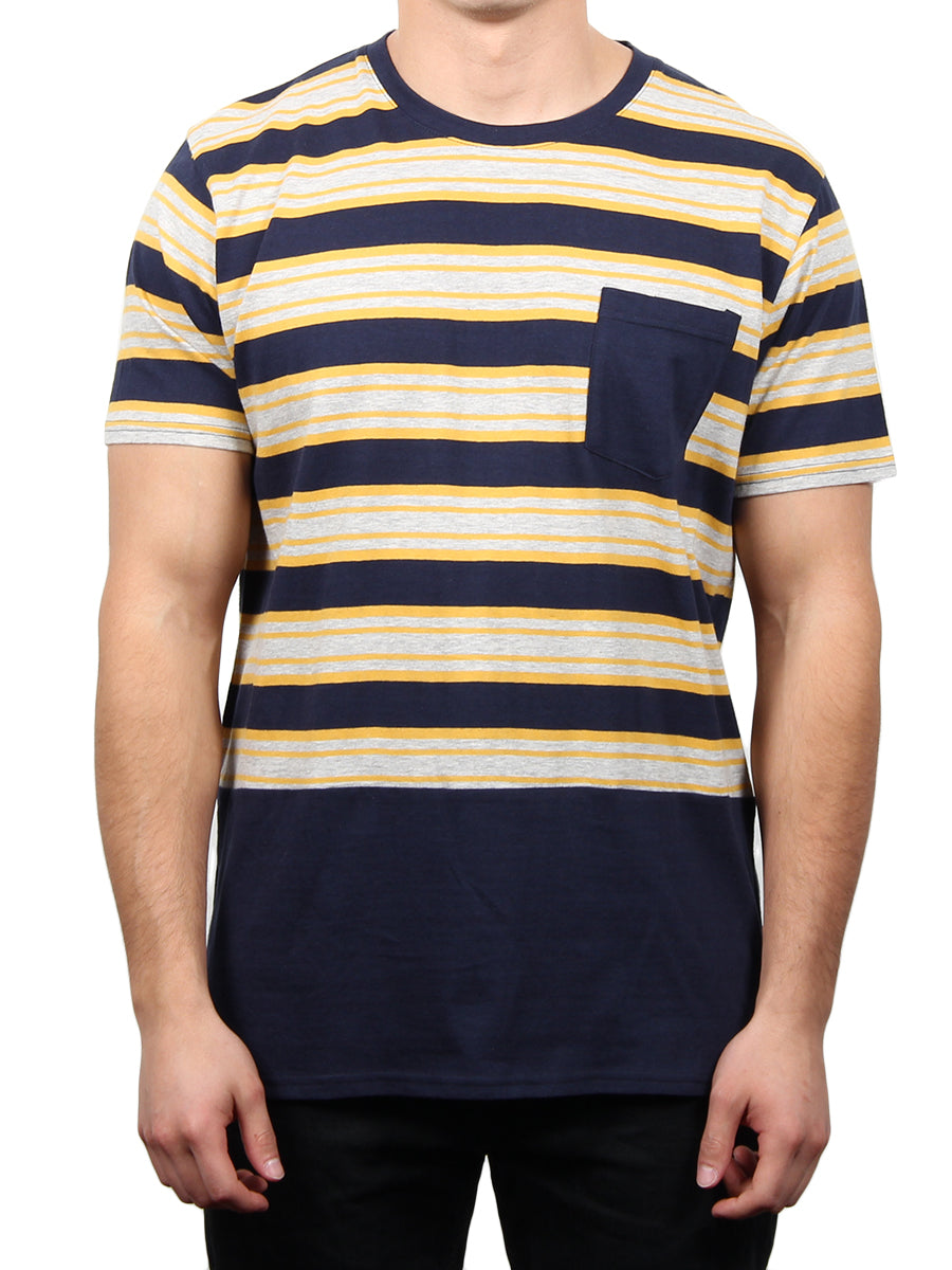 DONN HI-LOW SHORT SLEEVE CREW  SKU: W2473-0251ST