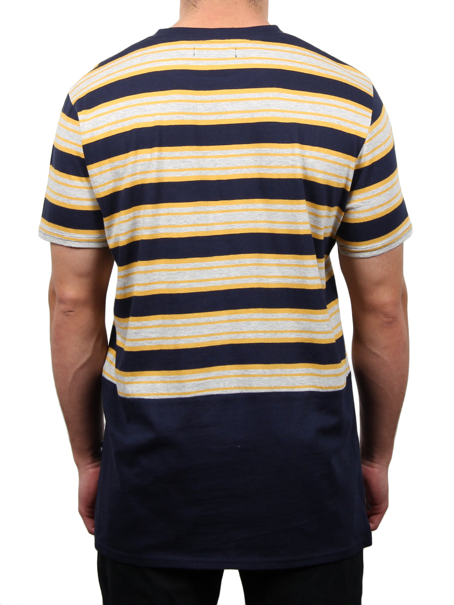 DONN HI-LOW SHORT SLEEVE CREW