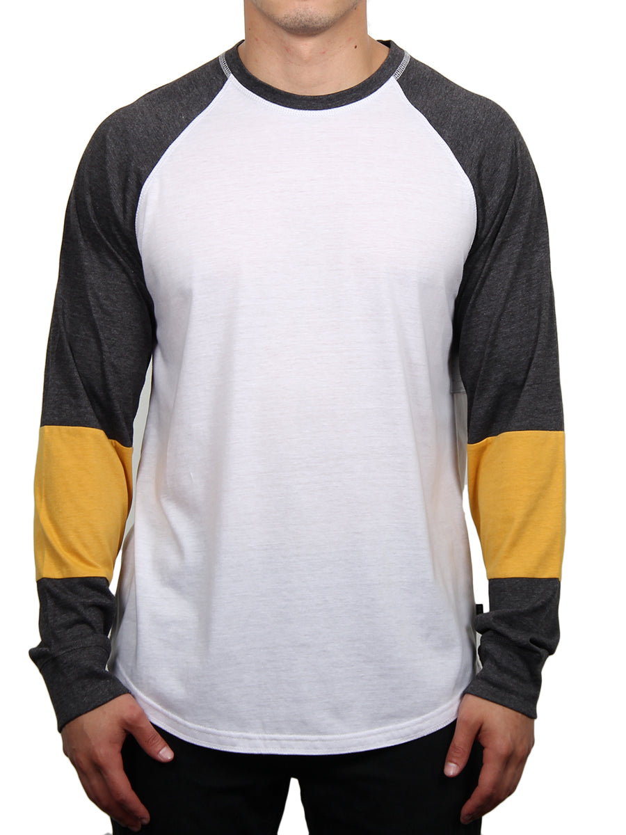 FIGHTER RAGLAN LONG SLEEVE TEE