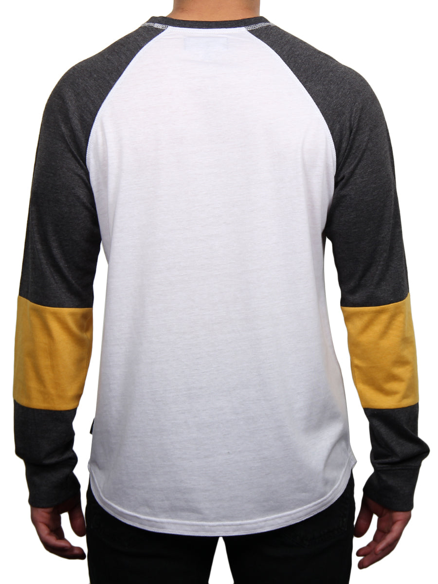 FIGHTER RAGLAN LONG SLEEVE TEE  SKU: W2479-0001