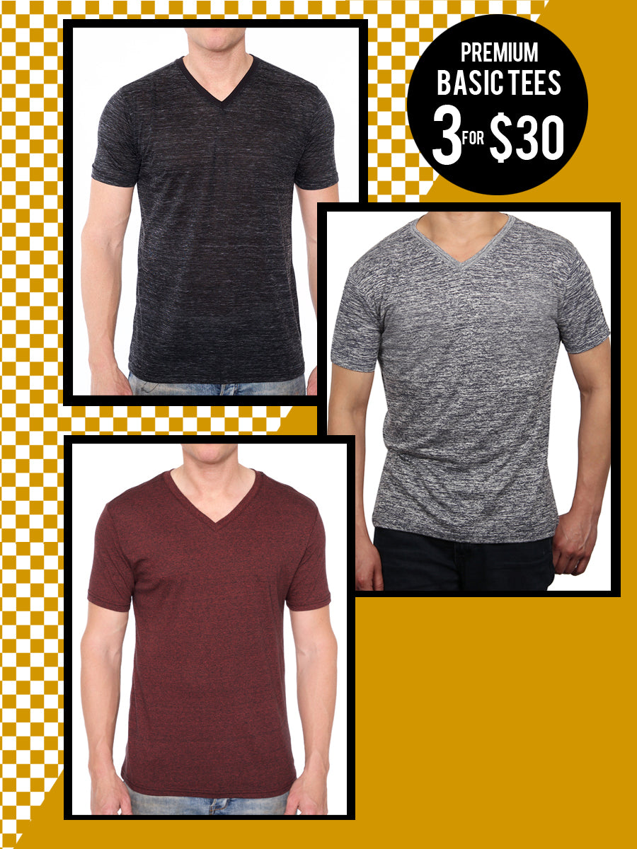 SHORT SLEEVE V-NECK BUNDLE