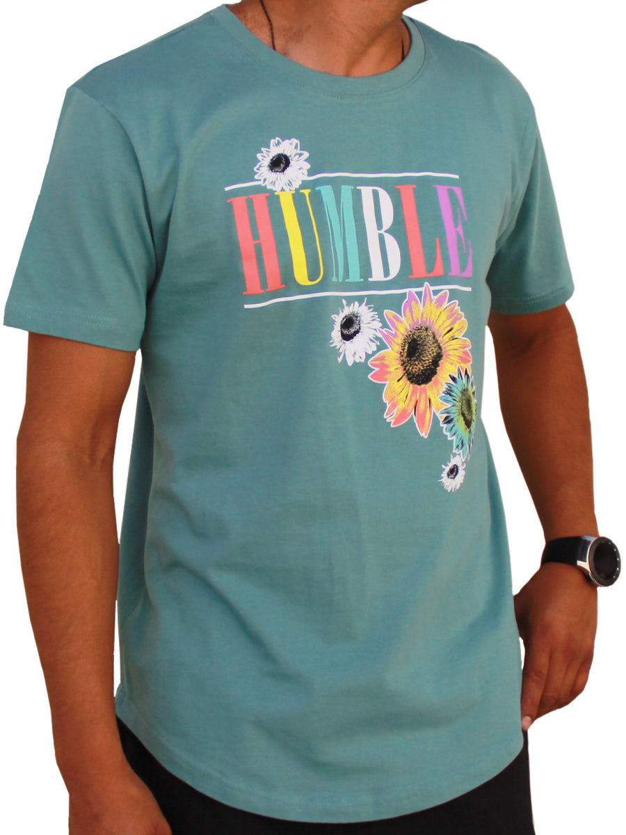 HUMBLE DAISY GRAPHIC CREW NECK TEE