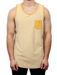 EMPIRE VERTICAL STRIPE RINGER TANK
