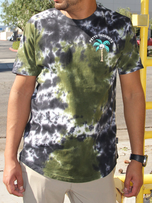 THE VIBE CRYSTAL WASH CREW NECK T-SHIRT