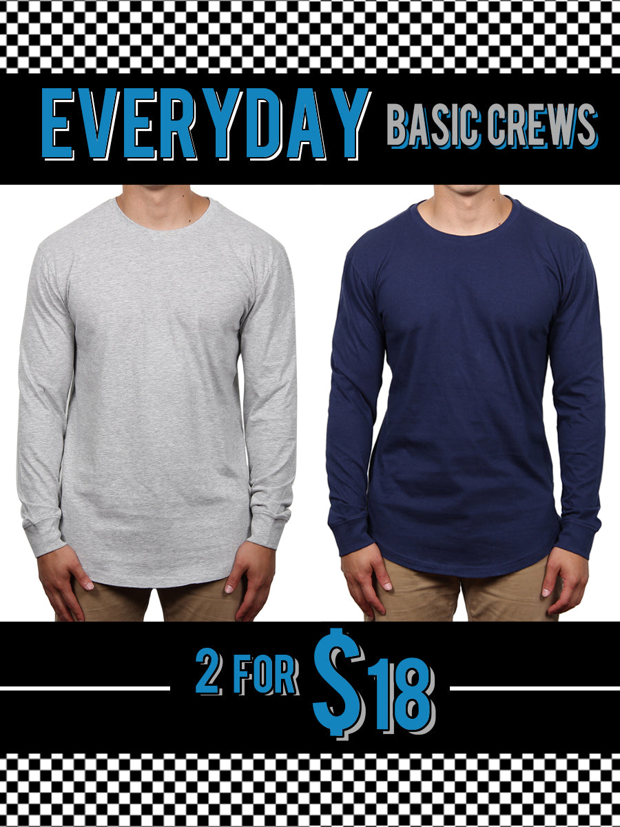 LONG SLEEVE T-SHIRT BUNDLE