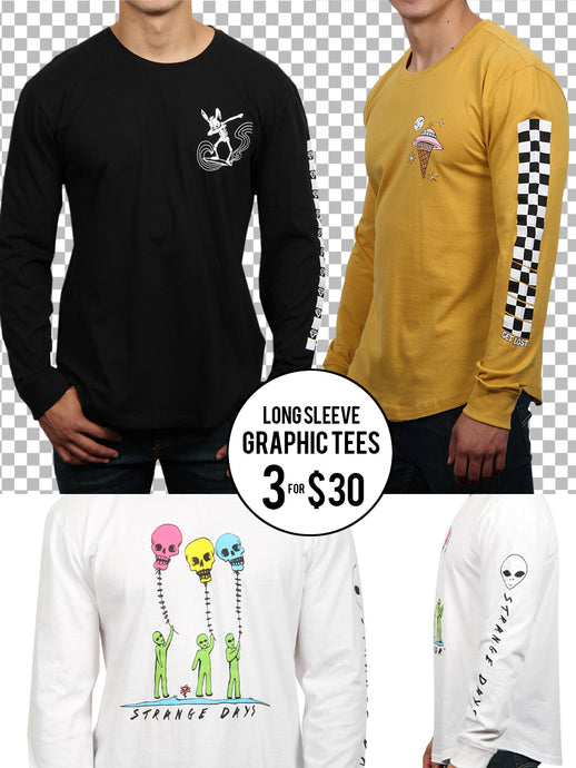 LS GRAPHIC TEE BUNDLE