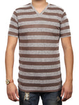 ORIGINAL STRIPE SLUSH JERSEY SS V-NECK