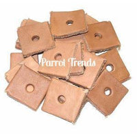 "Leather Squares 1"" x 1"""