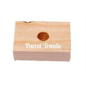 "1 3/4"" Soft Wood Block (Natural)"